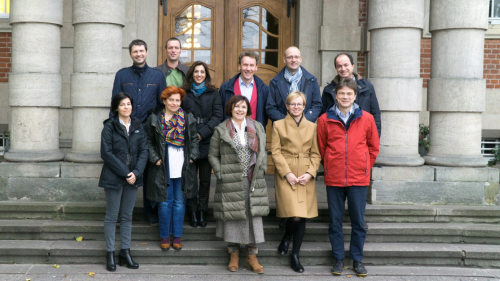 MELES project – kick-off meeting at Maritime University of Szczecin 08-09  November 2017