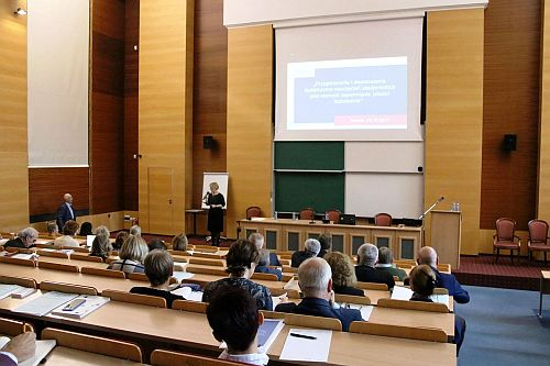 Seminar at the Adam Mickiewicz University in Poznań
