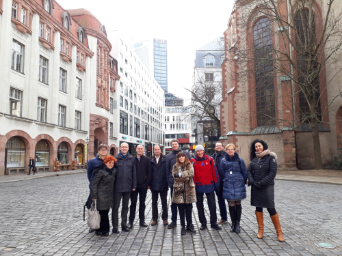 Study visit in Leipzig  from 30th  January to 1st February 2018